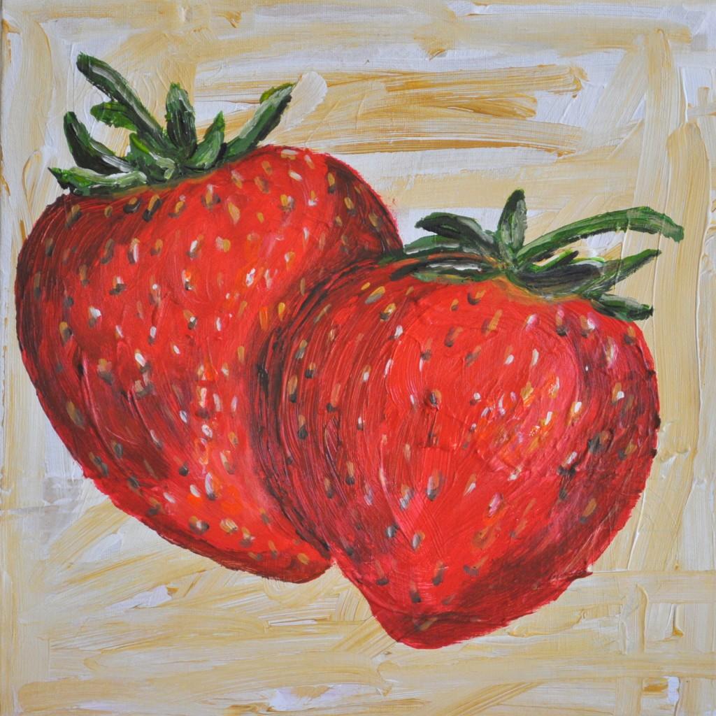 srawberries and blondies 042