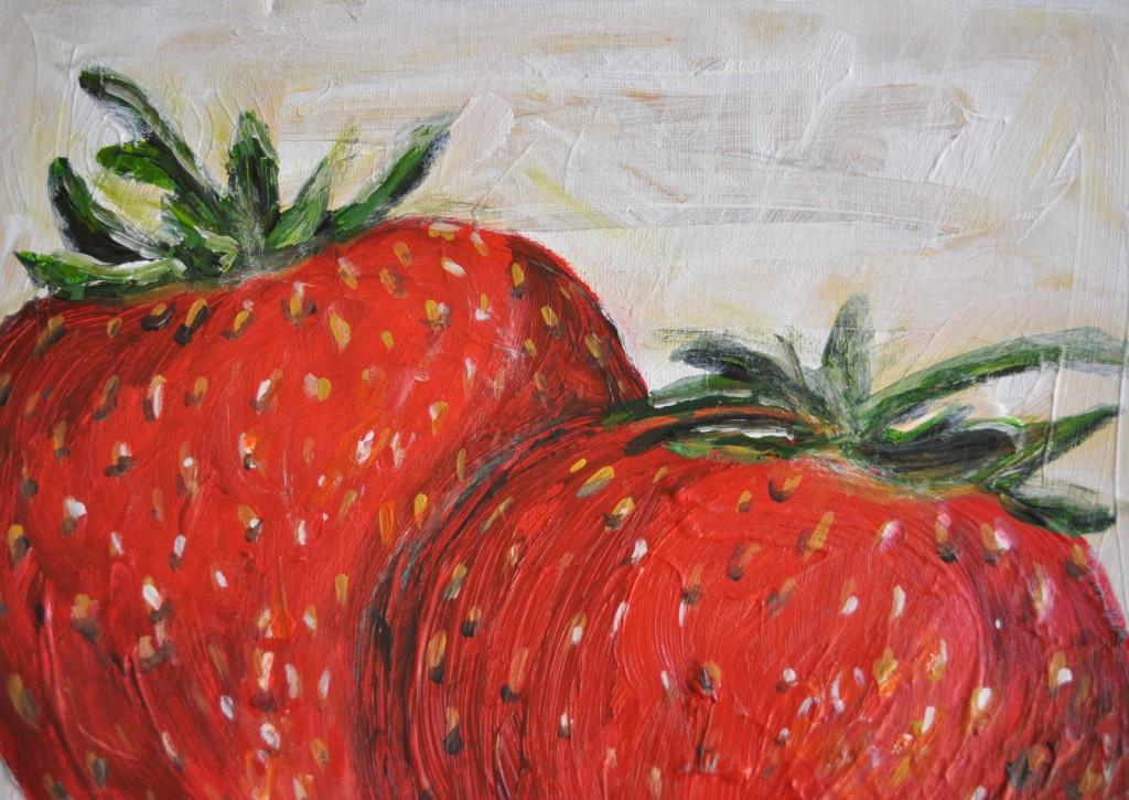 srawberries and blondies 051