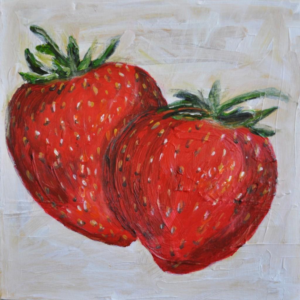 srawberries and blondies 054