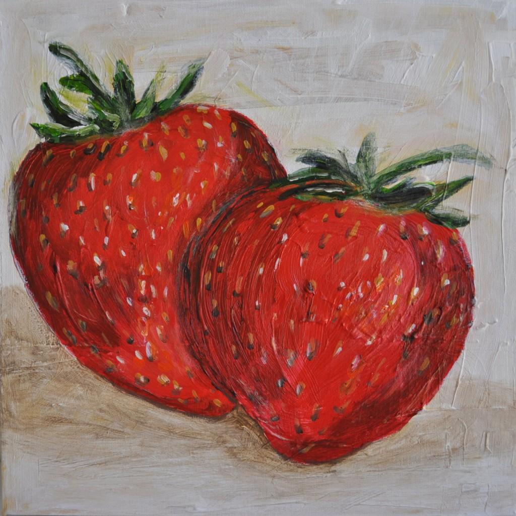 srawberries and blondies 057