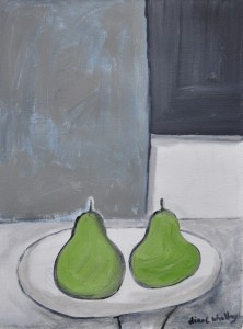 Two Green Pears - sold